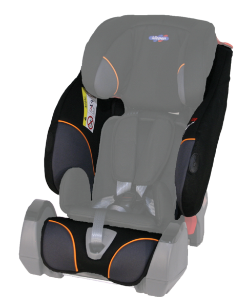 Seat-cover Triofix Recline Black Orange
