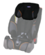 HeadrestcoverTriofix Recline Black Orange